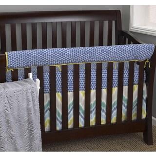 Cotton Tale Zebra Romp 4-piece Crib Bedding Set