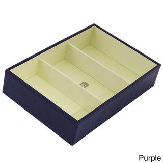 WOLF Stackables Medium Deep Tray (Option: Purple)