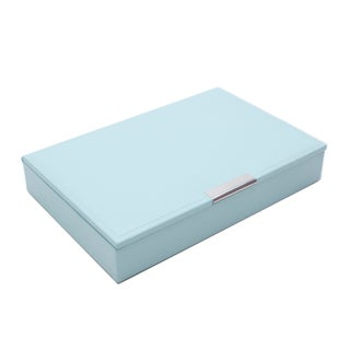 WOLF Stackables Medium Tray with Lid (Option: Blue)