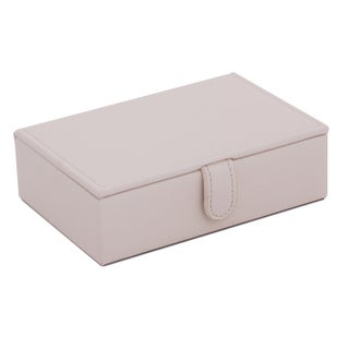 WOLF Brighton Saffiano Travel Jewelry Box (3 options available)