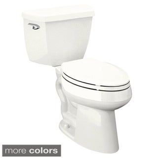 Kohler K-3493 Highline Classic Comfort Height Two-piece Elongated 1.6 gpf Toilet