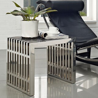 Small Stainless Steel Gridiron Bench