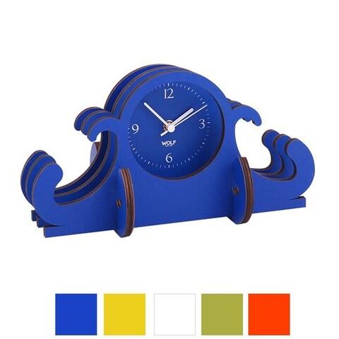 WOLF Wooden Jigsaw Mantel Clock