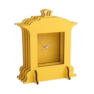 WOLF Wooden Jigsaw Grand Mantel Clock