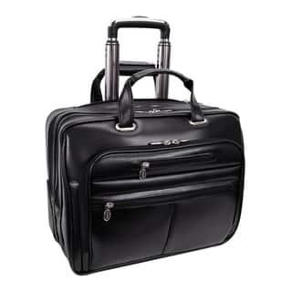 McKlein Wrightwood Black Wheeled 17-inch Laptop Case https://ak1.ostkcdn.com/images/products/8692636/McKlein-Wrightwood-Black-Wheeled-17-inch-Laptop-Case-P15945430.jpg?impolicy=medium