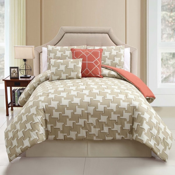 VCNY Sheridan 100-percent Cotton 5-piece Comforter Set