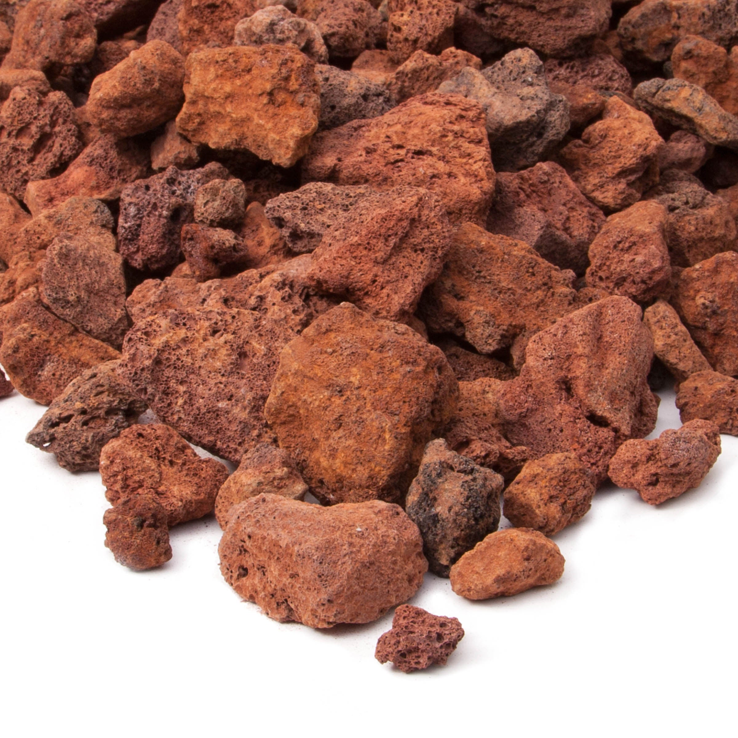 Real Flame Red Lava Rock (Red Lava Rock by Real Flame), O...