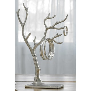 Statues sculptures shop the best deals for feb 2017 for Tree branch jewelry holder