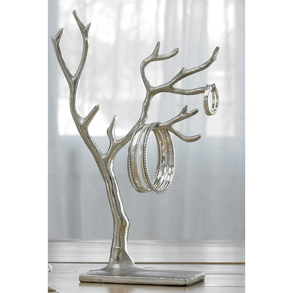 Multi branch tree of life jewelry holder free shipping for Tree branch jewelry holder