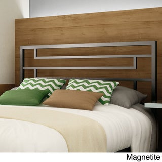 Amisco Temple 54-inch Full-size Metal Headboard