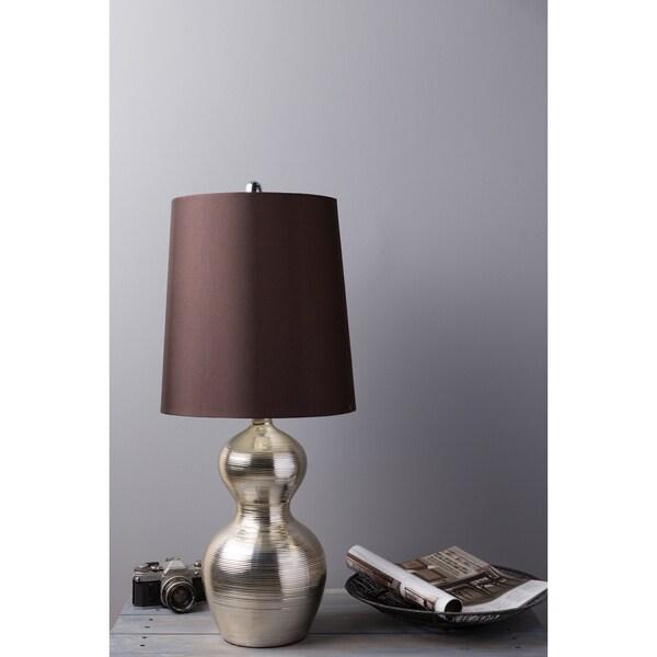 Glamorous 1-light Silver Gourd Lamp