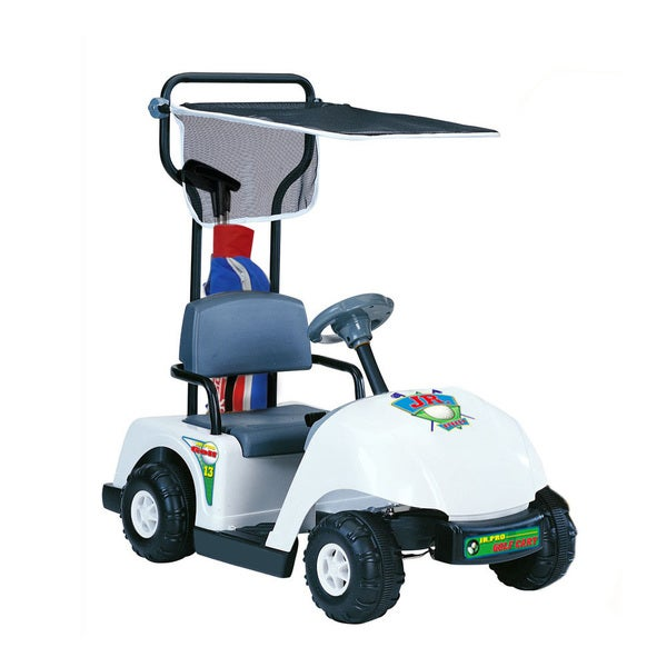 Kid Motorz Jr. Pro 6-volt White Golf Cart