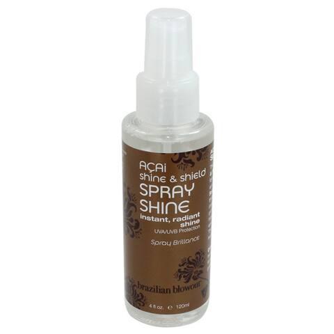 Brazilian Blowout 4-ounce Shine & Shield Spray