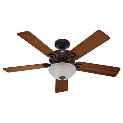 """Hunter 52"""" Astoria Ceiling Fan with LED Light Kit and Pull Chain"""