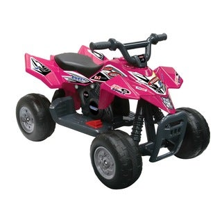 Kid Motorz Quad Racer 6-Volt Battery-Powered Ride-On