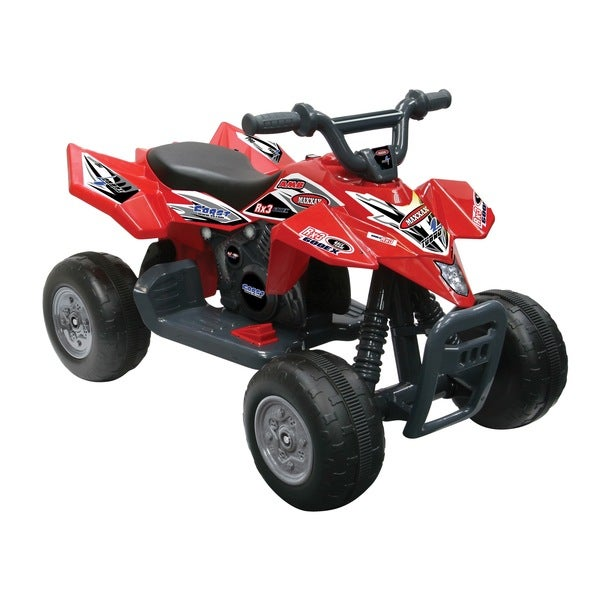 Kid Motorz Red Quad Racer