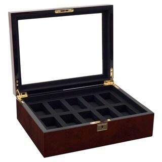 WOLF Savoy 10-piece Watch Box