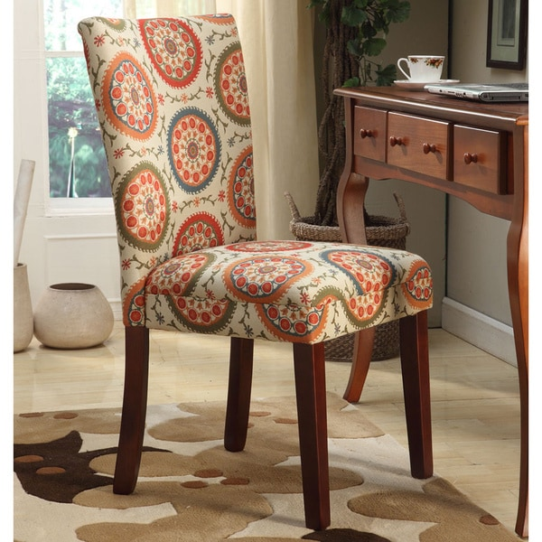 Dining Chairs Sets: HomePop Suzani Parson Dining Chair (Set Of 2)