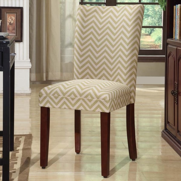 Shop HomePop Citron Parson Dining Chair (Set Of 2)