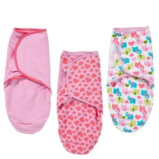 Summer Infant SwaddleMe Cotton Knit Swaddler (3 Pack)