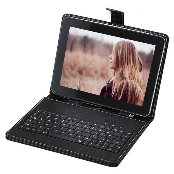 SVP Android 4.2 Dual Core Dual Camera HDMI 8GB 9-inch Capacitive Touchscreen Tablet with Keycase