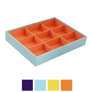 WOLF Stackables Large Deep Jewlery Tray (Option: Blue)|https://ak1.ostkcdn.com/images/products/8692870/P15945603.jpg?impolicy=medium