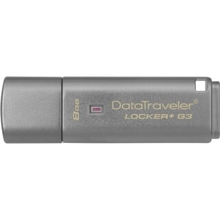 Kingston 8GB DataTraveler Locker+ G3 USB 3.0 Flash Drive