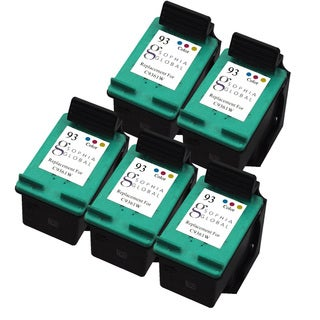 Sophia Global Remanufactured Ink Cartridge Replacement for HP 93 (5 Color)