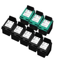 Sophia Global Remanufactured Ink Cartridge Replacement for HP 92 (5 Black, 3 Color)