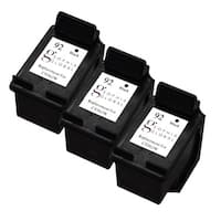 Sophia Global Remanufactured Ink Cartridge Replacement for HP 92 (3 Black)