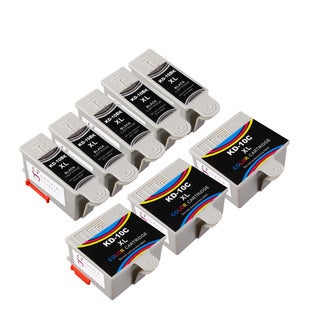 Sophia Global Compatible Ink Cartridge Replacement for Kodak 10XL (5 Black, 3 Color)