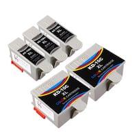 Sophia Global Compatible Ink Cartridge Replacement for Kodak 10XL (3 Black, 2 Color)