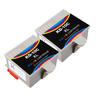 Sophia Global Compatible Ink Cartridge Replacement for Kodak 10XL (2 Color)