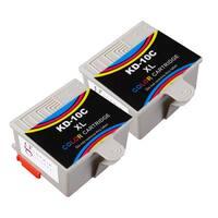 Sophia Global Compatible Ink Cartridge Replacement for Kodak 10XL (2 Color)