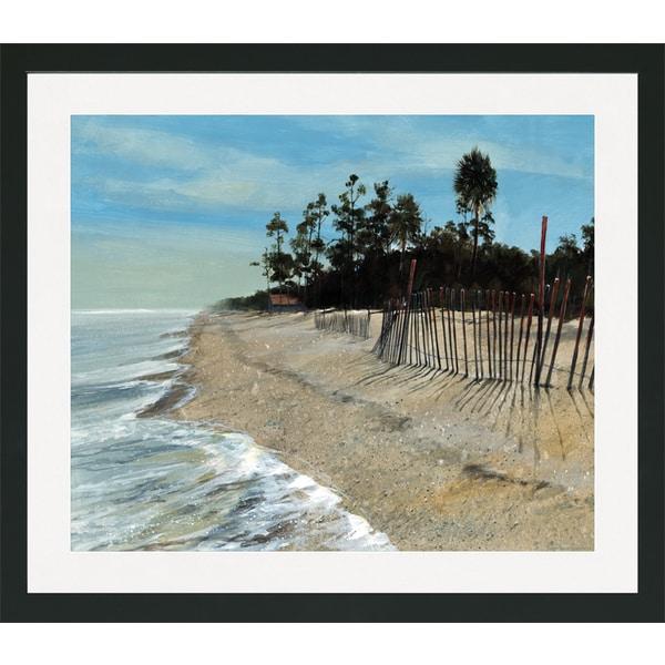 Island Beach Scenes: Shop Roger Bansemer 'Hunting Island Seaside Beach Scene