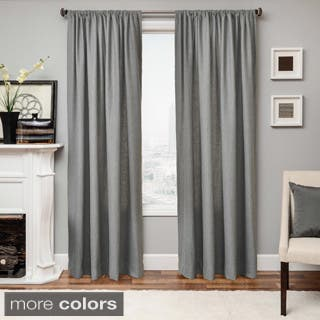 Softline Don Rod Pocket 84 Inch Curtain Panel