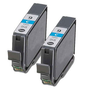 Canon PGI9C Cyan Compatible Inkjet Cartridge (Remanufactured) (Pack of 2)
