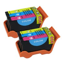 Dell Series 21 (Y499D / 330-5274) Color Compatible Ink Cartridge (Remanufactured) (Pack of 2)