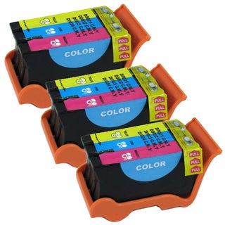 Dell Series 21 (Y499D / 330-5274) Color Compatible Ink Cartridge (Remanufactured) (Pack of 3)