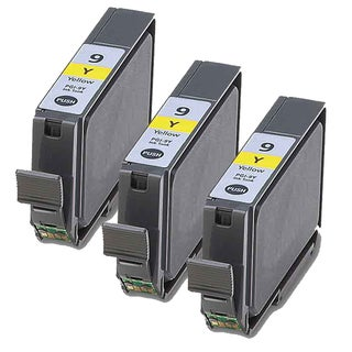Canon PGI9Y Yellow Compatible Inkjet Cartridge (Remanufactured) (Pack of 3)