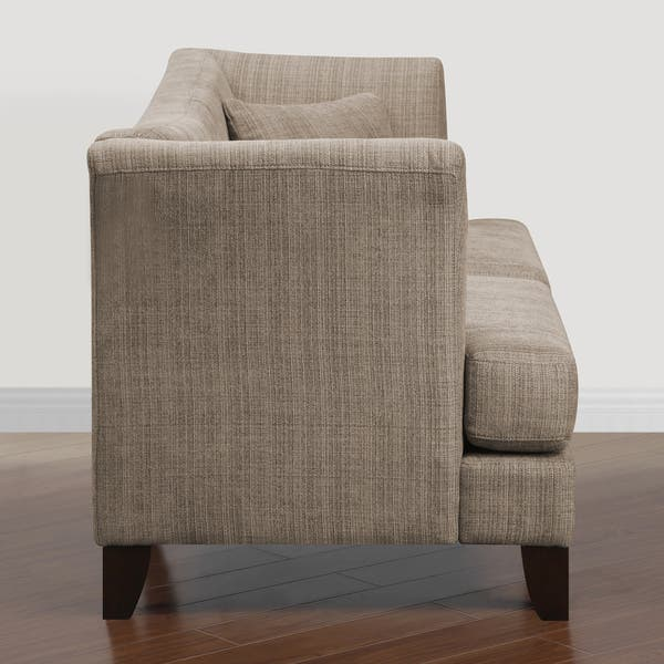 Incredible Shop Modern Twine Curved Arm Sofa Free Shipping Today Cjindustries Chair Design For Home Cjindustriesco