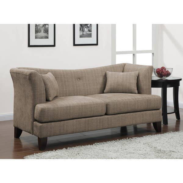 Magnificent Shop Modern Twine Curved Arm Sofa Free Shipping Today Cjindustries Chair Design For Home Cjindustriesco