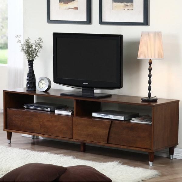70 Best Online Furniture Stores: Shop Venus 70-inch Autumn Oak Entertainment Center