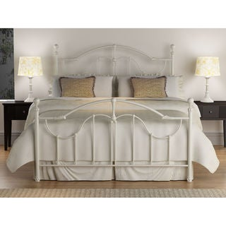 beautiful white queen size beds from us stores | Shop Roxie Antique White Queen-size Bed - Free Shipping ...
