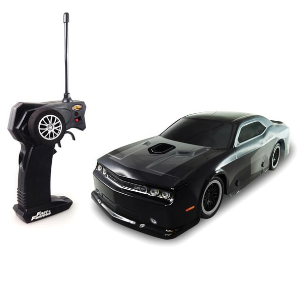 shop fast and furious dodge challenger srt8 rc car free shipping on orders over 45. Black Bedroom Furniture Sets. Home Design Ideas