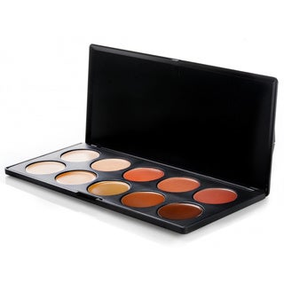 BH Cosmetics 10-color Camouflage and Concealer Palette