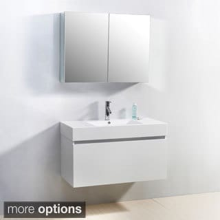 Virtu USA Zuri 39-inch Single-sink Bathroom Vanity Set