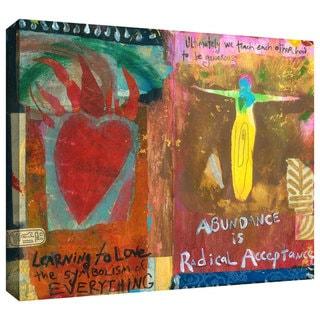 Elena Ray 'Art Journal Abundance' Gallery-wrapped Canvas Art