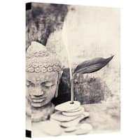Elena Ray 'Black And White Buddha' Gallery-wrapped Canvas Art
