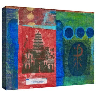 Elena Ray 'Good Fortune Pagoda' Gallery-wrapped Canvas Art